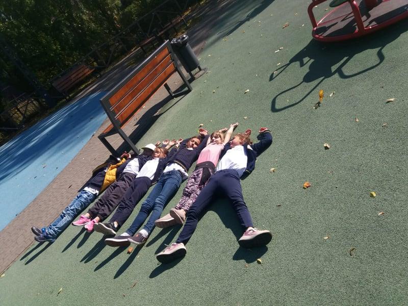 Jesienny spacer klas IiIII